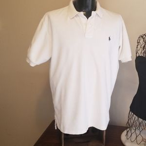 White polo shirt by Polo by Ralph Lauren